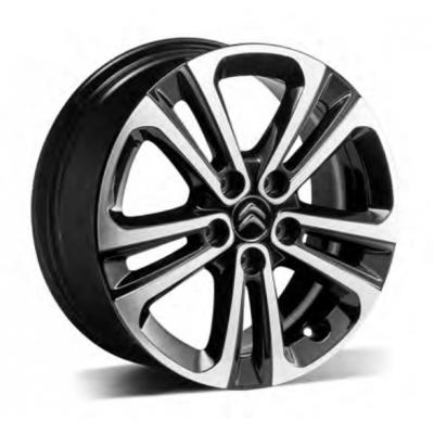 "Set of 4 alloy wheels Citroën STARLIT 16"" - Berlingo (K9)"