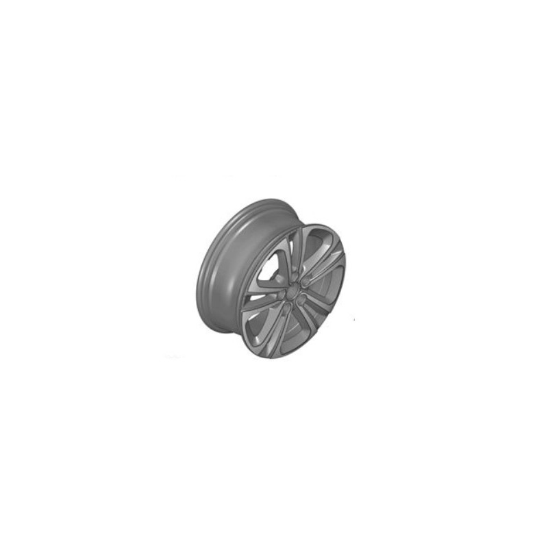 "Alloy wheel Citroën STARLIT 16"" with transparent varnish - Berlingo (K9)"