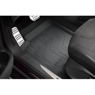 Set of rubber floor mats Citroën DS 3 - RIGHT HAND DRIVE