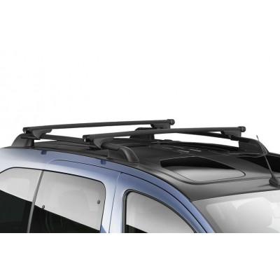 Střešní nosiče Citroën Berlingo Multispace (B9) s tyčemi, prosklená střecha